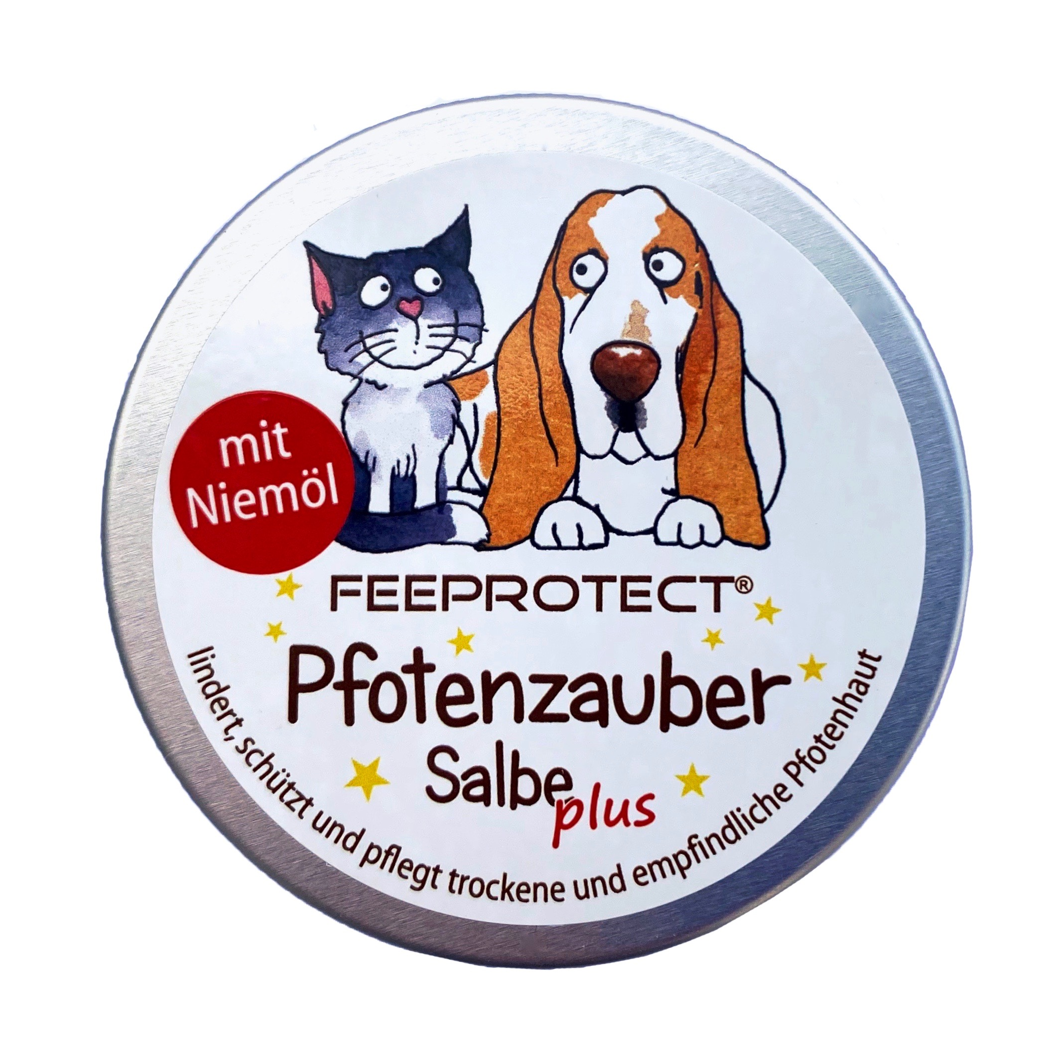 Feeprotect ® Pfotenzauber-Salbe mit Niemöl Aludose