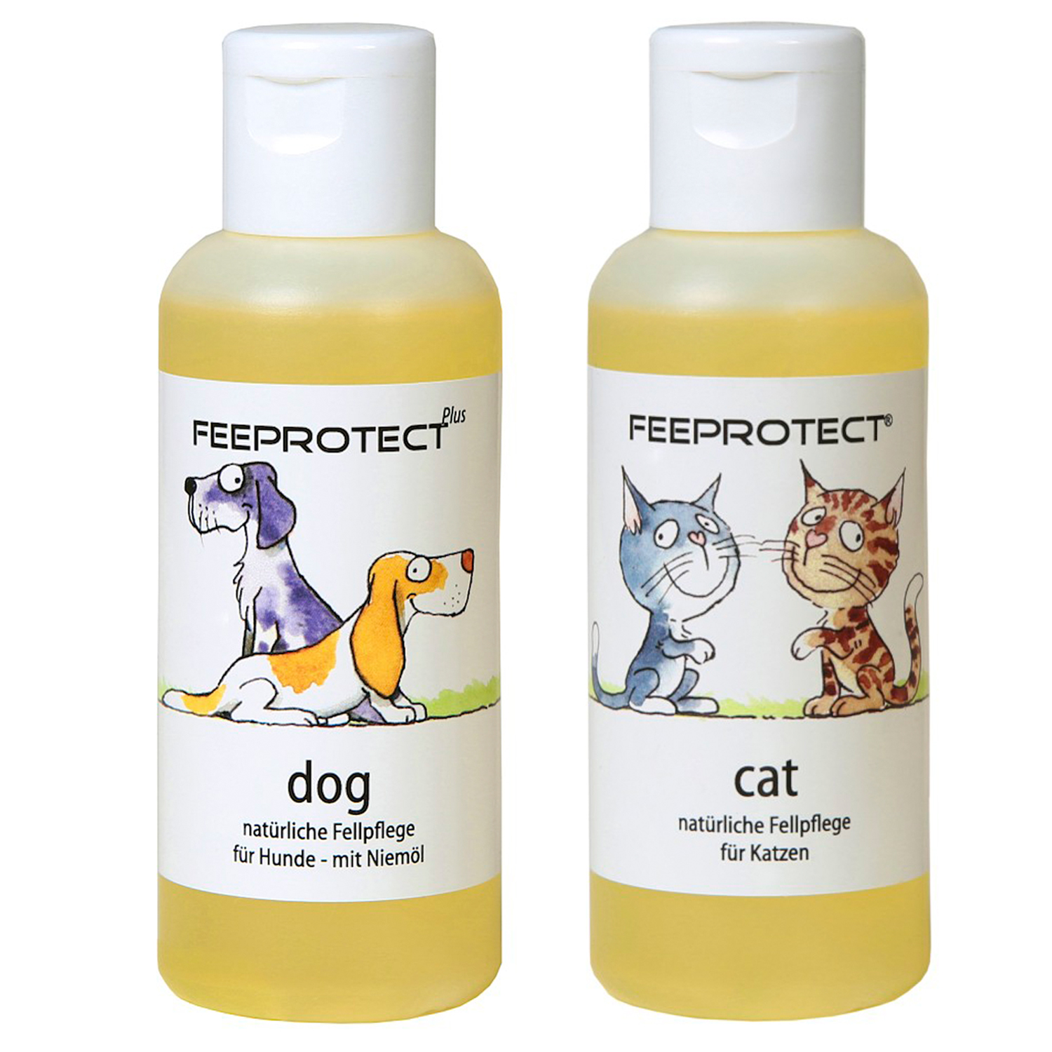 Feeprotect ® dog plus und cat Fellpflege