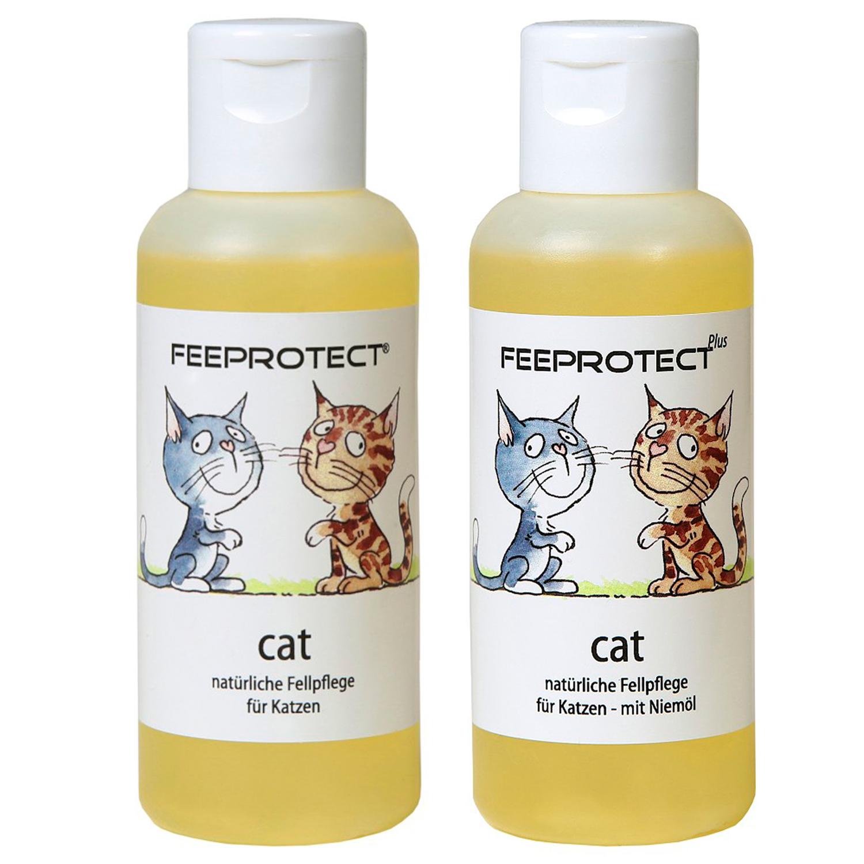 Feeprotect ® cat und cat plus Fellpflege