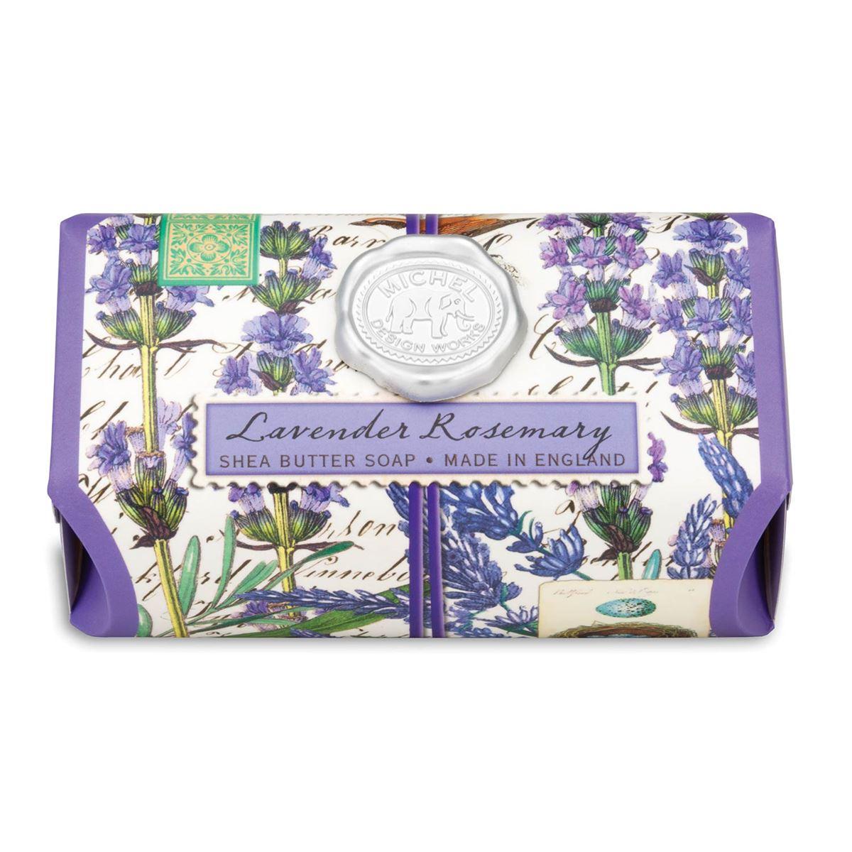 Lavender Rosemary Seifenstück