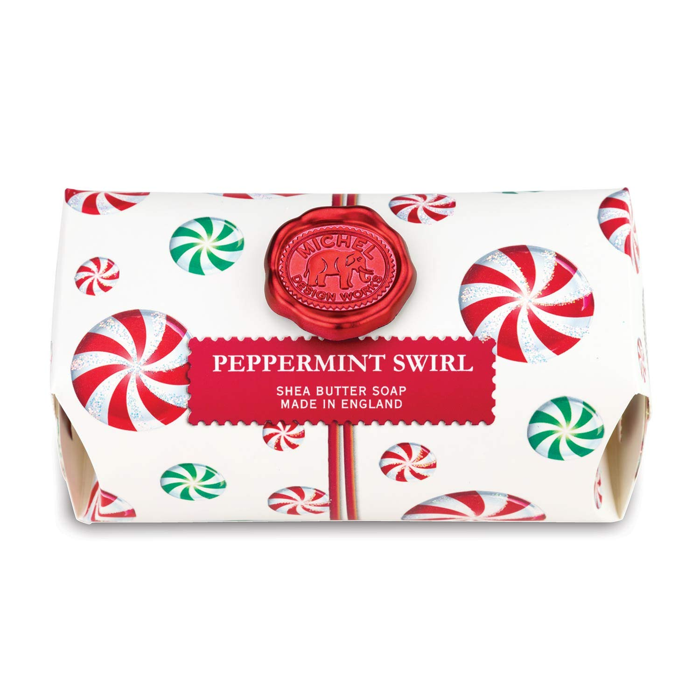 Peppermint Swirl Seifenstück