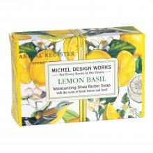 Lemon Basil Seifenstück klein