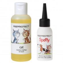 Feeprotect Spotty gegen Zecken und Feeprotect cat Fellpflege
