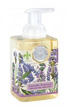 Lavendel Rosmarin Seifenschaum